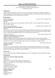 crafts people and artisans cv examples   skilled trades cv    s    darren m    installation and repair cv   dumfries  dumfriesshire