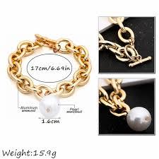 Ingemark <b>Bohemian Imitation Pearl</b> Pendant Bracelet Bangle ...