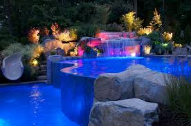 Swimming Pool Design UAE-Desert Landscaping Pool Design Projects