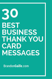 17 best ideas about thank you card design business 30 best business thank you card messages