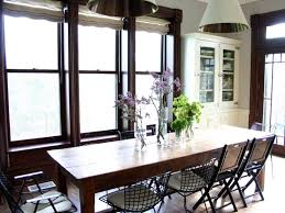 Distressed White Kitchen Table Kitchen Dp Zaveloff Eclectic White Dining Room Farmhouse Kitchen