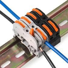 <b>5pcs</b> C35 <b>Rail</b> Terminal <b>spl</b>-<b>1</b>/lsa-1 screw-free wiring terminal air-to ...