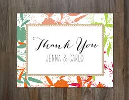 the best thank you cards template designs