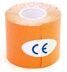 <b>Кинезио лента</b>, 5 м х 5 см, оранжевая, SF 0191 (<b>Bradex</b> ...