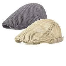 HaT HaT 2017 <b>Men's Breathable mesh Summer</b> Cap Beret ...