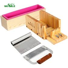 Nicole <b>Soap Making</b> Kit Loaf Soap Mold Planer Wood Box Soap ...