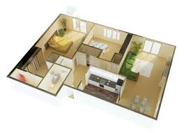 Two  Bedroom ApartmentHouse Plans Architecture  Design - Two bedroomed house plans