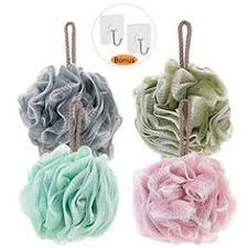 Mesh Poufs (60g/pcs) Bath and Shower Sponge Loofahs Exfoliating ...