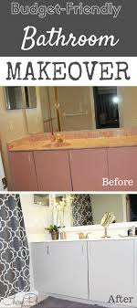friendly bathroom makeovers ideas: budget friendly bathroom makeover faux finish decorative painting west palm