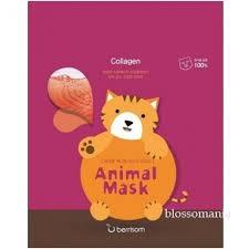 Котик. Animal <b>Маска тканевая с морским</b> коллагеном Animal mask ...