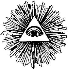 Risultati immagini per occhio che tutto vede illuminati