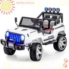 "Двухместный <b>Электромобиль Little Sun</b> ""Jeep S2388 (4X4 ..."