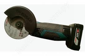 Отзывы о аккумуляторной <b>угловой шлифмашине Bosch</b> GWS ...