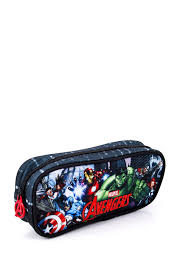 <b>Пенал</b> Мстители ©<b>Marvel</b>, 1 отделениe 50520090: цвет черный ...