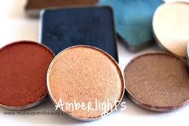 <b>MAC Amber</b> Lights <b>Eyeshadow</b> Review, Swatch, FOTD