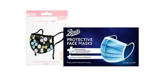 Face coverings | Reusable & <b>disposable face masks</b> - Boots