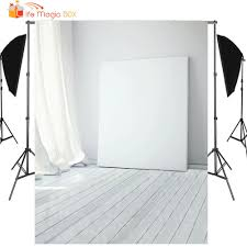 LIFE MAGIC BOX Photo Background White Wood Board Curtain ...