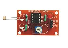 Buy Robosoft Labs 2Pcs LDR <b>Photosensitive Resistance Sensor</b> ...