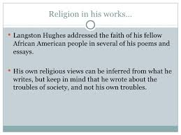 research paper    langston hughes
