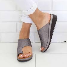 Womens Fashion Flats Wedges Open Toe Ankle Beach <b>Shoes</b> ...