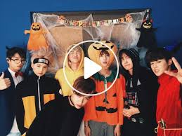 Halloween Party with BTS - V LIVE