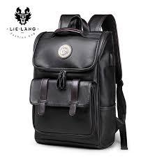 LIELANG Men <b>Backpack</b> External USB Charge Waterproof ...