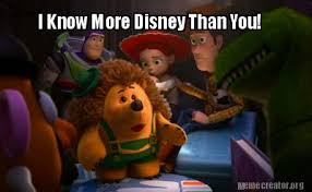 16 Signs That Show You're A Disney Know-It-All | DisneyExaminer via Relatably.com
