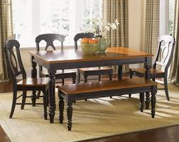 Country Style Dining Room Tables Country Dining Room Sets Liberty Furniture Low Country Black Piece