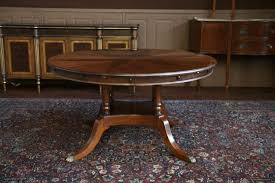 Round Dining Room Tables Dining Amazing Over Sized Round Mahogany Dining Table Finisihed In