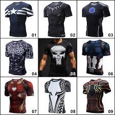 Men's <b>T</b>-<b>shirts 3D</b> Printed Compression Sportswear <b>Marvel</b> DC ...