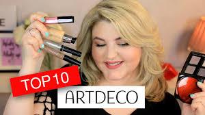 ТОП 10 продуктов ARTDECO + Макияж СТРЕЛКИ для нависшего ...