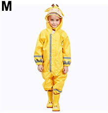 Longshow Raincoat, <b>Children's</b> Jumpsuit Raincoat Waterproof ...