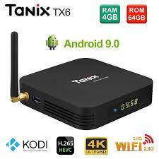 (Free Gift) Tanix <b>TX6</b> 4gb 64gb <b>Android 9.0</b> Kodi v18 Allwinner H6 ...
