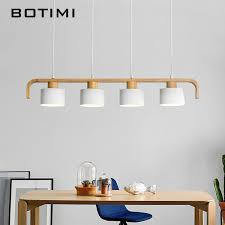 <b>BOTIMI</b> Modern <b>LED Pendant Lights</b> With Metal Lampshade For ...