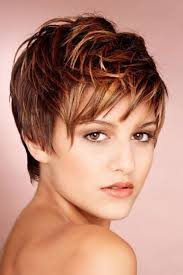 Hair Style Highlights heres a cute pixie cut hairstyle with auburn hair color with 8909 by wearticles.com