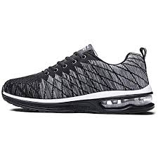 breathable mesh sport running shoes for men cushioning sneakers outdoor walking jogging shoes trainer athletic male