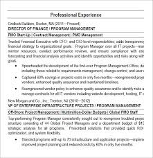 project manager resume –   samples   examples   formatprogram manager pmo director resume pdf