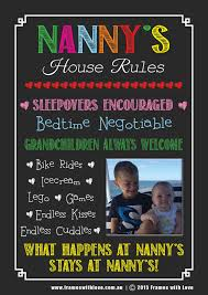 nanny s house rules blackboard design photo choice nanny s house rules blackboard design photo choice of background 1172