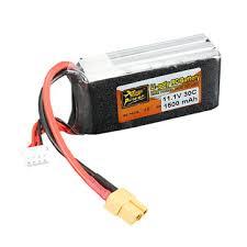 zop power <b>11.1v 1500mah 3s</b> 30c <b>lipo battery</b> xt60 plug Sale ...
