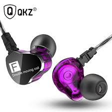 Genuine <b>QKZ CK9 Earphones</b> Dual Driver With Mic gaming headset ...
