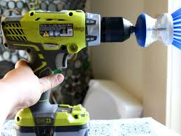 How to make a <b>power scrubber</b> with your cordless <b>drill</b>