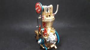 Assembling - <b>Teching Single Cylinder Engine</b> Model Full Aluminium ...