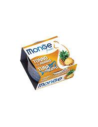 <b>MONGE</b> FRUIT TUNA WITH PINEAPPLE 80G <b>MONGE</b>.SHOP ...