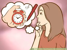 time is precious essay easy ways to write a good essay in a short amount of time image titled