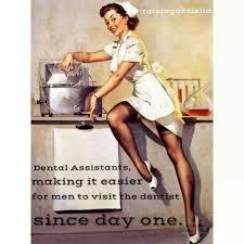 Dental assistants making it easier for men to visit the dentist ... via Relatably.com