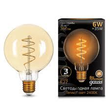 Купить филаментные светодиодные лампы