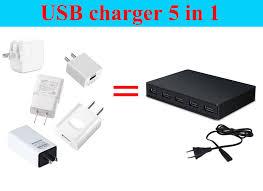 <b>Quick Charge 3.0</b> 5 Port USB Travel <b>Quick Charger Universal</b> ...