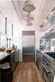 Contemporary Galley Kitchen Impressive Modern Galley Kitchen Floor Plans With Stainless Open