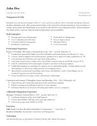 professional construction manager templates to showcase your resume templates construction manager