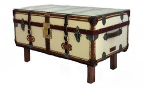 cabin trunk coffee table is often represented in two colors chest coffee table multifunction furniture